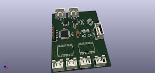 PCB layout 3