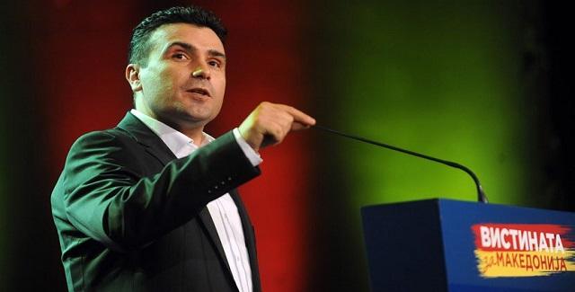 Ζόραν Ζάεφ: «Υπάρχει κατ' αρχήν συμφωνία με την Ελλάδα»