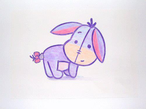 The Photo Dictionary: Eeyore Drawing