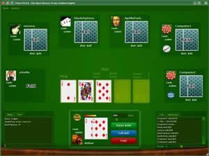 Download PokerTH to play Poker for free