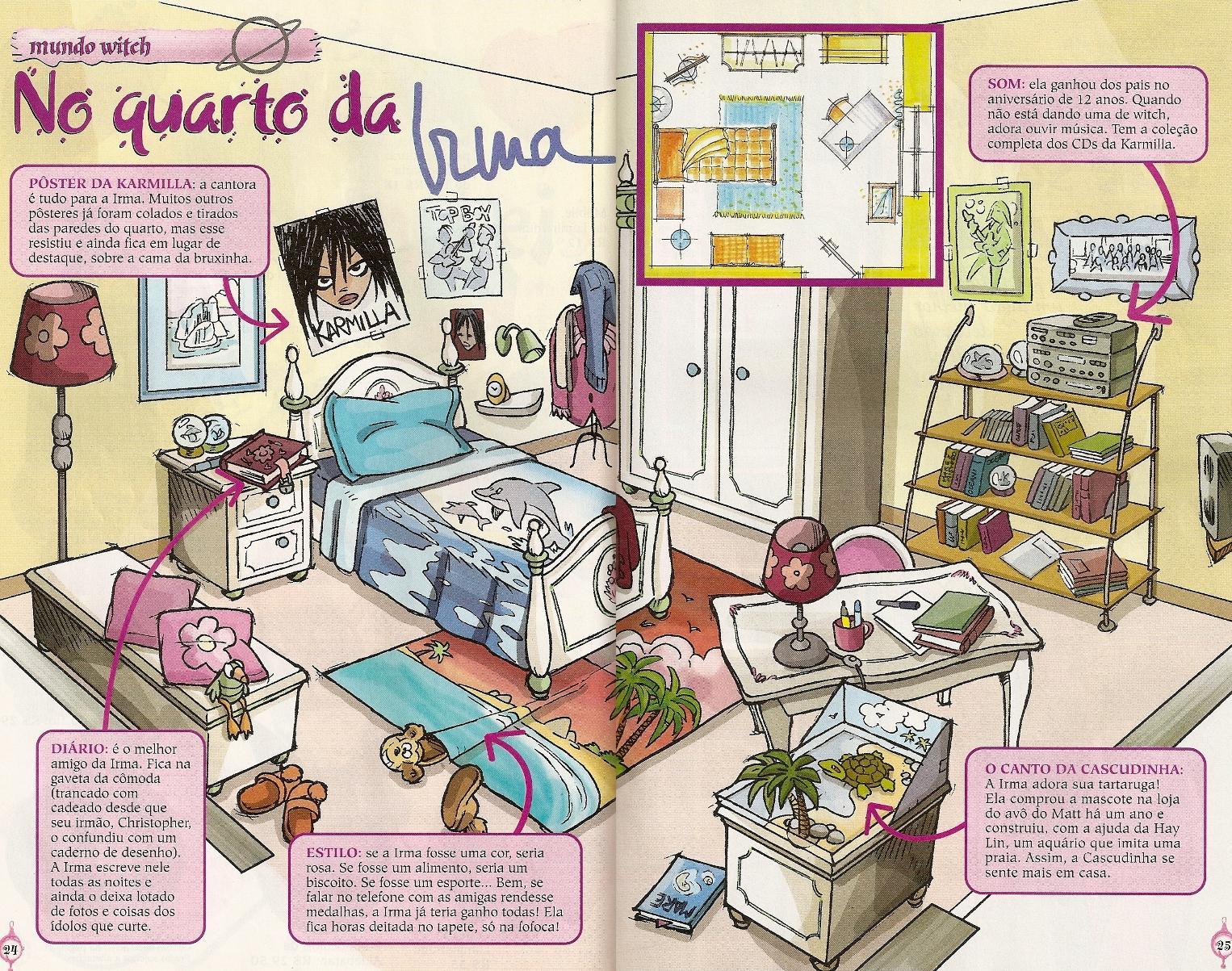 Desenho No Quarto ~ No quarto das W I T C H !