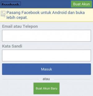 Cara Cepat Buat Akun Facebook di HP Android