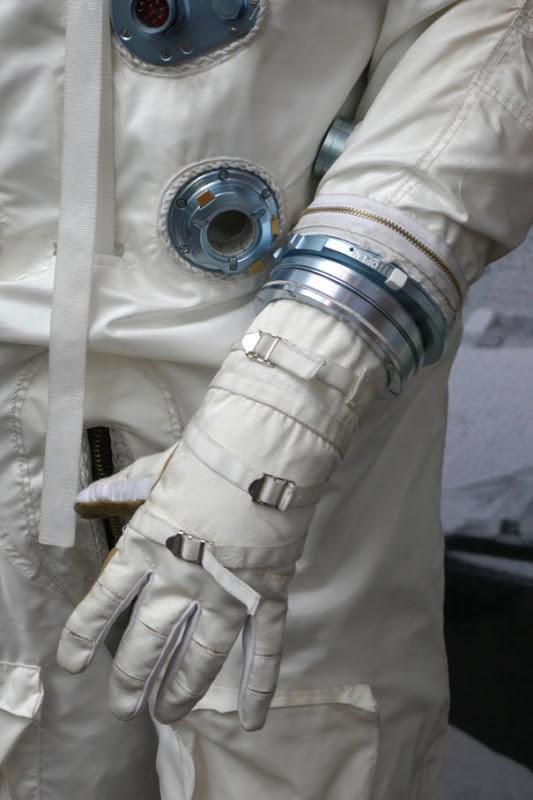 First Man Gemini spacesuit glove detail