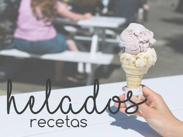 HELADOS. Recetas