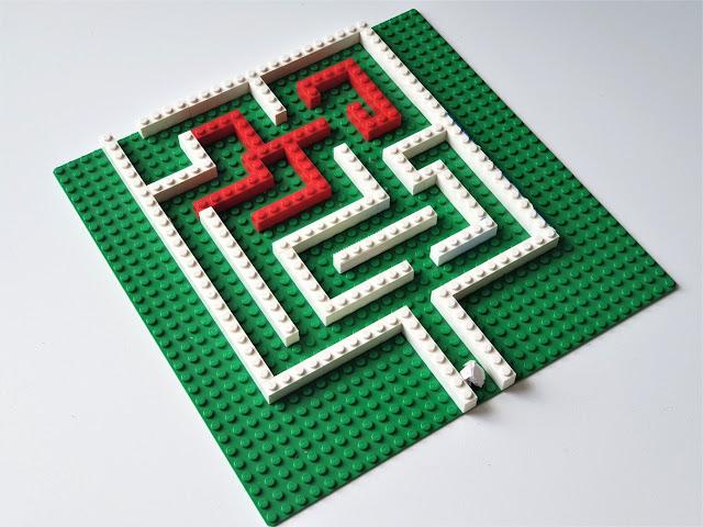 kreatywne wykorzystanie klocków labirynt Lego