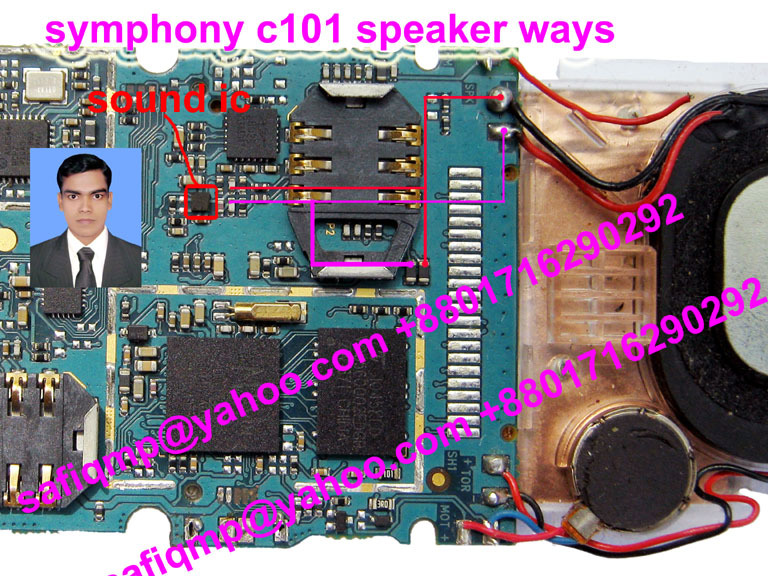 China Mobile Symphony C101 Ringer Ways Jumper  GSMHosters