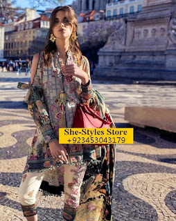Shehla Chatoor Luxury Lawn by Shariq Textiles