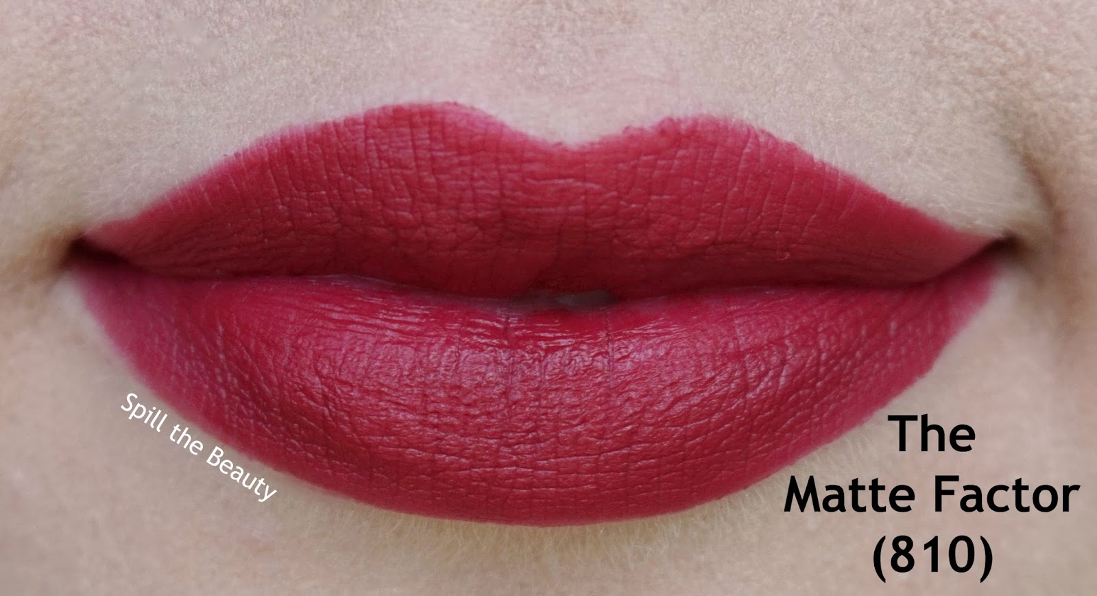 rimmel the only 1 matte lipstick review swatches 810 - the matte factor