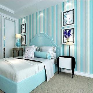 Model Gambar Wallpaper Dinding Rumah Minimalis untuk Kamar Tidur