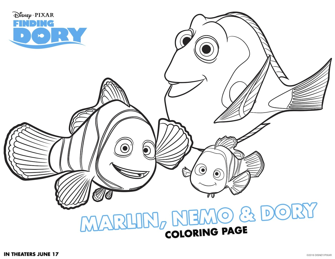 free printable findingdory activity sheets haveyouseenher