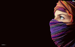 Wanita Muslimah Bercadar - Arab Woman In Hijab HD Wallpaper