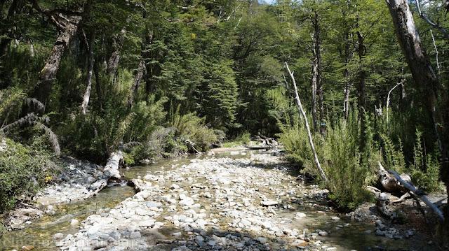 arroyo Ujenco, trekking cerro bayo villa Traful, La angostura