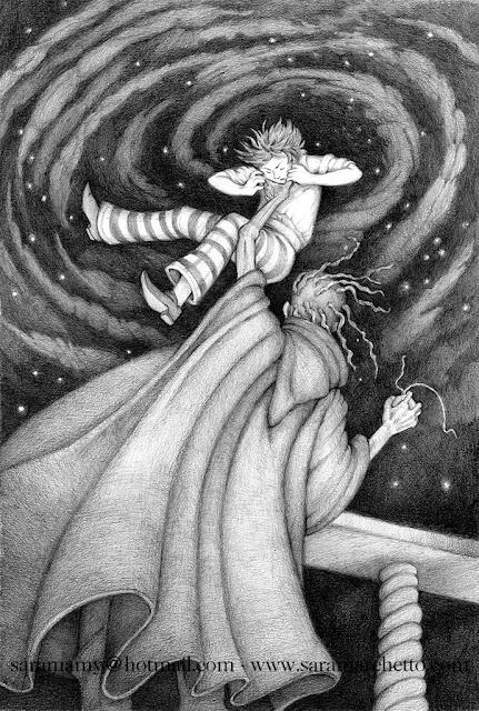 fantasy illustration pencil