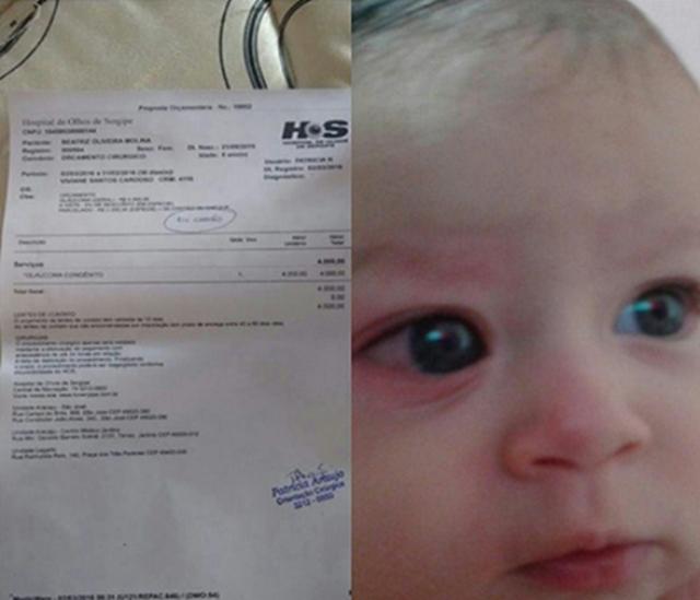 Veja como ajudar bebê com doença rara que pode ficar cego se não passar por cirurgia