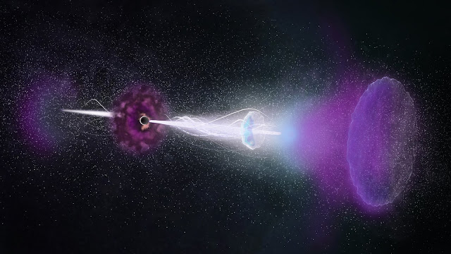 Enduring 'radio rebound' powered by jets from gamma-ray burst
