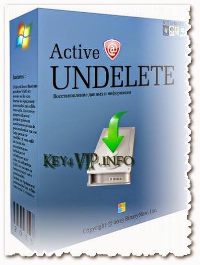 Active UNDELETE Enterprise 9.5.51 Full Key,Phần mềm khôi phục dữ liệu do xóa nhầm