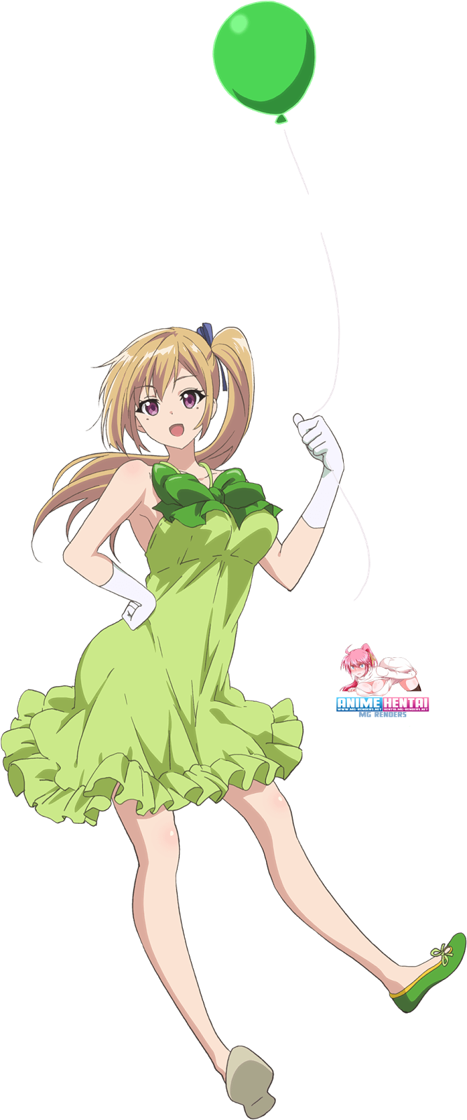 Tags: Anime, Render,  Dress,  Kawakami Mai,  Musaigen no Phantom World,  PNG, Image, Picture