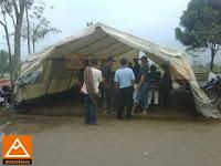 Tenda Pelayanan Kesehatan Merapi di Ketunggeng Muntilan