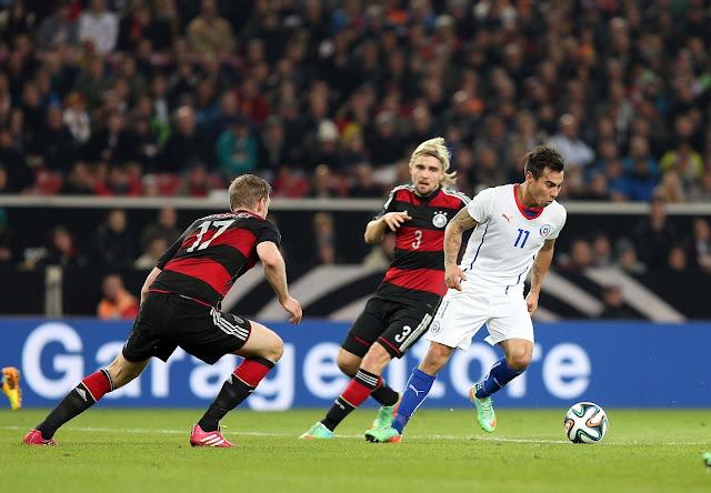 Alemania y Chile en partido amistoso, 5 de marzo de 2014