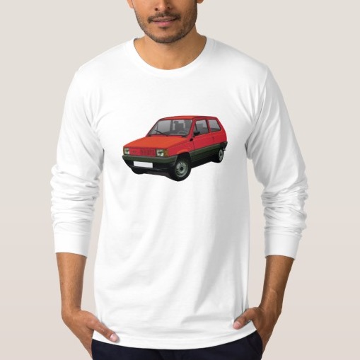Fiat Panda t-shirts and gifts