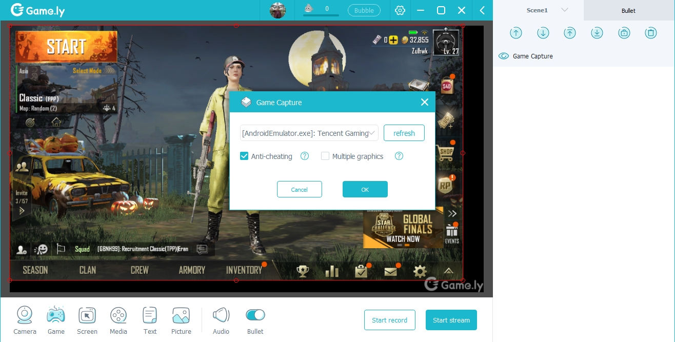 Cara Live Streaming Game.ly di Komputer atau Laptop