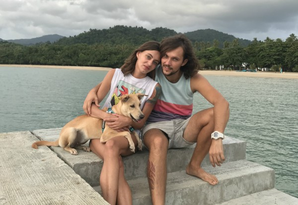 When a Ukrainian couple on holiday in India came across a starving puppy in a beach in Kochi one night, their actions set off a series of events that made the young couple global icons. Realizing the pup would not survive if left alone, the two adopted the pup and nursed it back to health. Unwilling to leave Chapati to its fate, Kristina Masalova and Eugene Petrus extended their stay in India to get all the paperwork done for exporting the pup.  In the year since, the trio have visited 14 countries together and are one of the most beloved global advocates for pet adoption in addition to helping thousands with advice for traveling with pets.