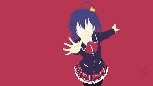 Tapeta Full HD z Rikka Takanashi - Chuunibyou demo Koi ga Shitai