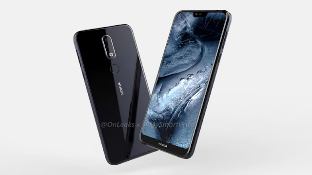 Nokia 7.1 Plus Front & Back