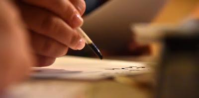 Εργαστήριο καλλιγραφίας στο Πολιτιστικό Ίδρυμα Ομίλου Πειραιώς
