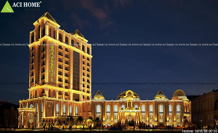 Thiet ke khach san kieu phap 4 sao - Hoa An Hotel - dang cap tai Phan Thiet