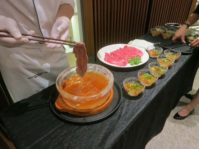 spicy wagyu beef