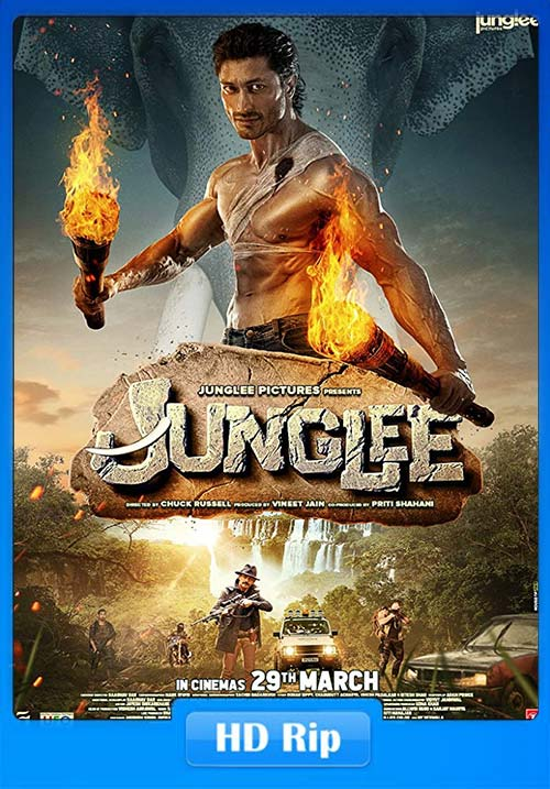 Junglee 2019 Hindi 720p HDRip ESub x264 | 480p | 300MB | 100MB HEVC Poster