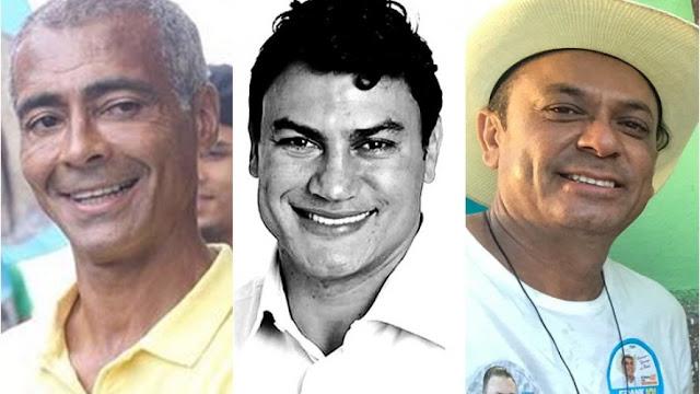 Romário, Popó, Frank Aguiar e ex-BBBs estão entre famosos derrotados nas eleições