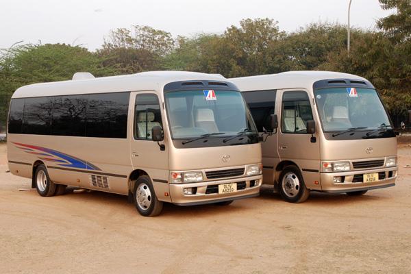 Kenya Tanzania shuttle bus