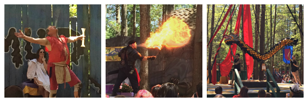 Mud Show Torture Show Draiku Aerial Dragon at King Richard's Faire Carver MA_New England Fall Events