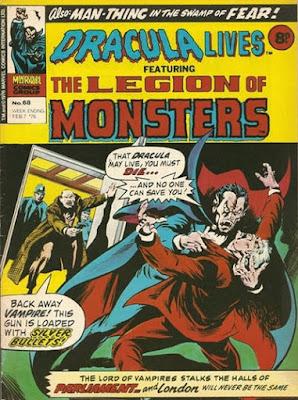 Marvel UK, Dracula Lives #68