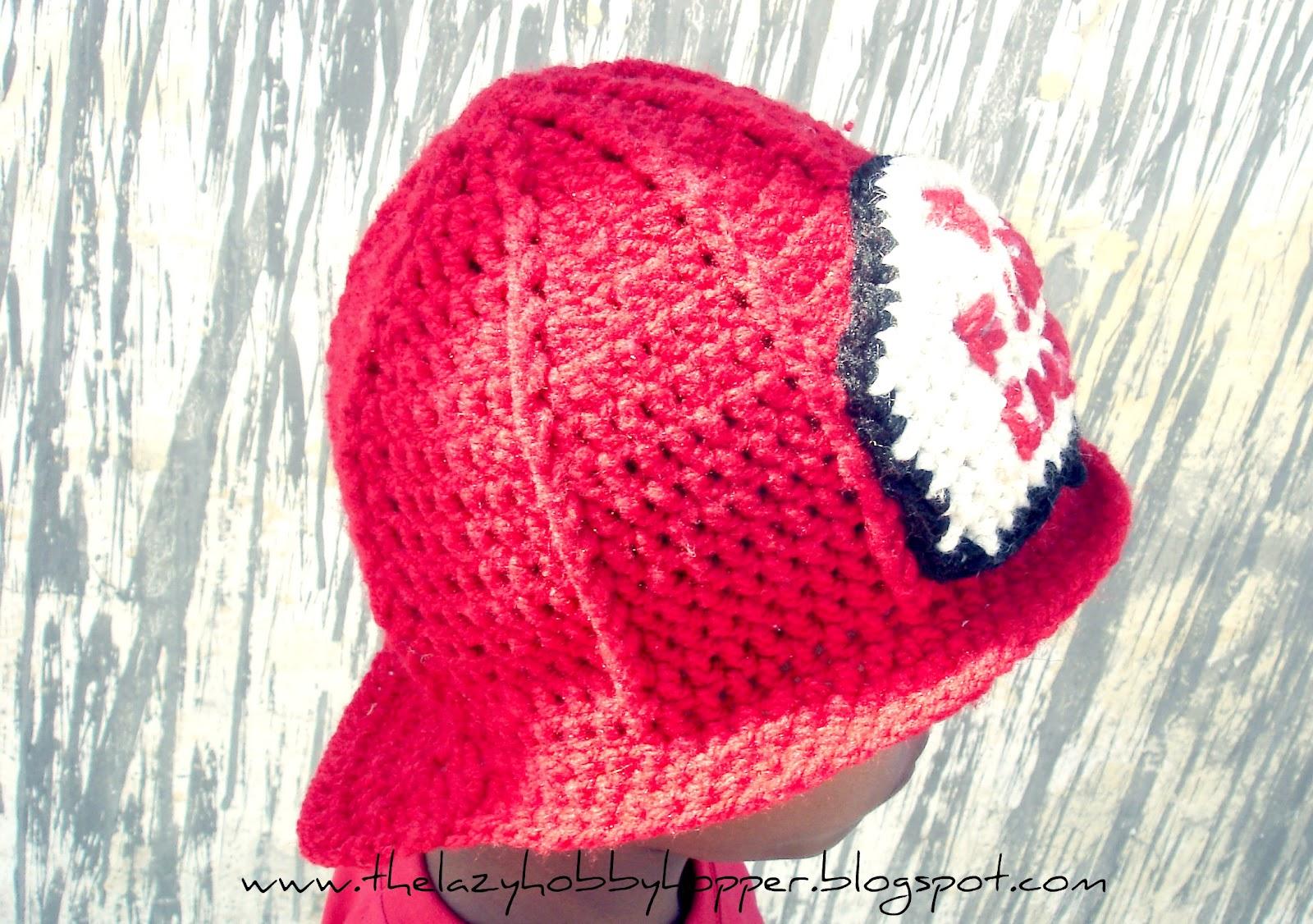The Lazy Hobbyhopper: Crochet Fireman Hat