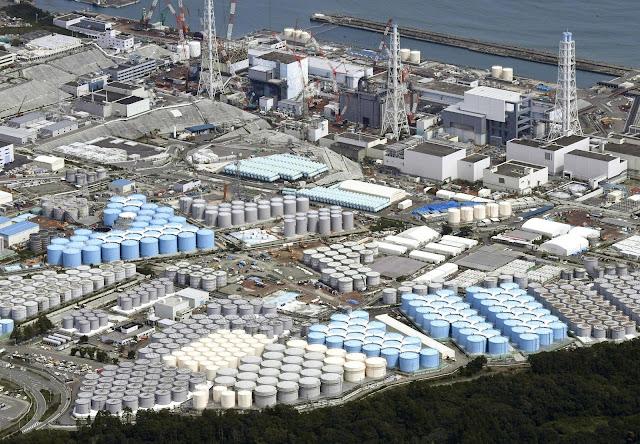 Incitado por especialistas, o governo japonês pensa liberar água contaminada no Oceano Pacífico