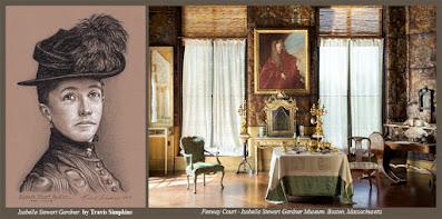 Isabella Stewart Gardner. 1840-1924. Fenway Court. Boston, MA. by Travis Simpkins
