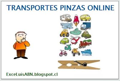 Transportes pinzas online.
