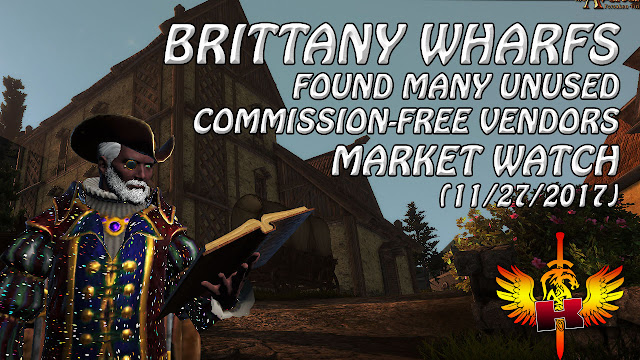 Brittany Wharfs (11/27/2017) Found Many Unused Commission-Free Vendors • Shroud Of The Avatar