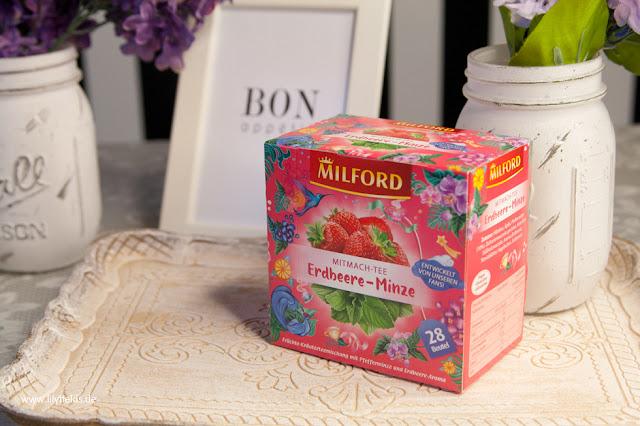 Milford - Mitmach-Tee Erdbeere-Minze