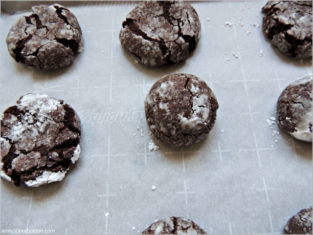 Receta Galletas Crinkles de Chocolate y Coco