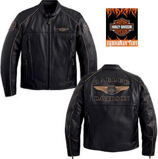 Gambar Jaket Kulit Harley