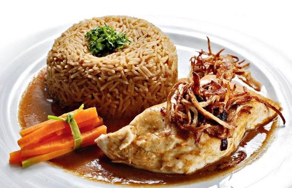 Lebanese sayediyeh fish and rice recipe lebanese recipes for Fish and rice recipes