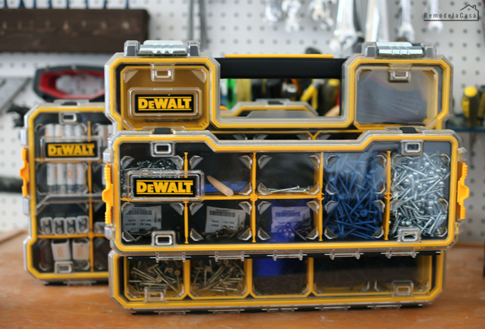 Dewalt organizers - THOUGH