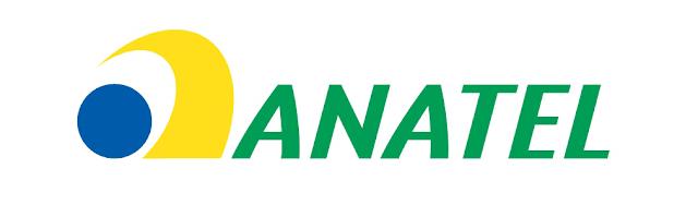 Logo oficial ANATEL, instituição que provocou polêmica sobre a internet limitada no Brasil.