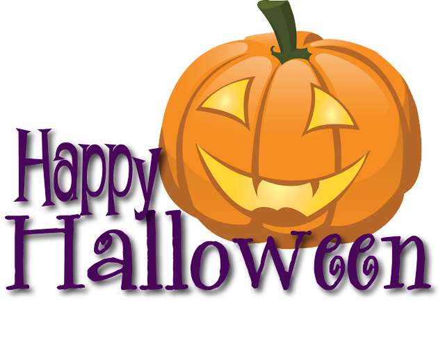 Free Printable happy halloween banner clipart template png images