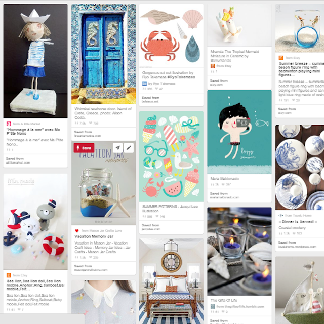 Nautical Pinterest Board by Lady Lucas