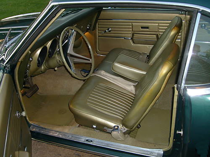 Classic Car Information 1968 Camaro Specifications And